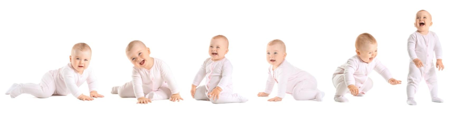 Kinder in weiß
